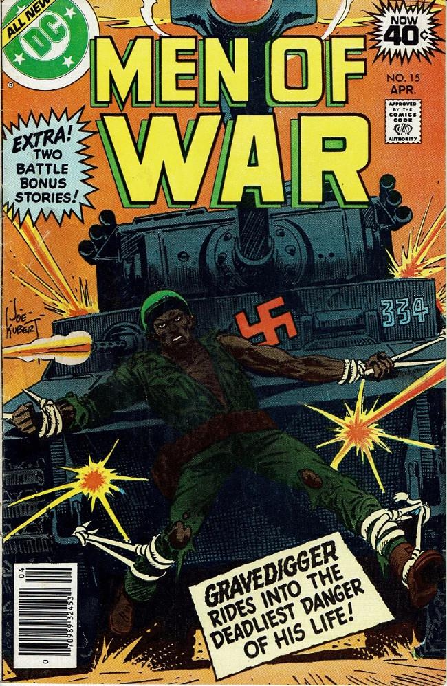 Couverture de Men of war Vol.1 (DC comics - 1977) -15- (sans titre)