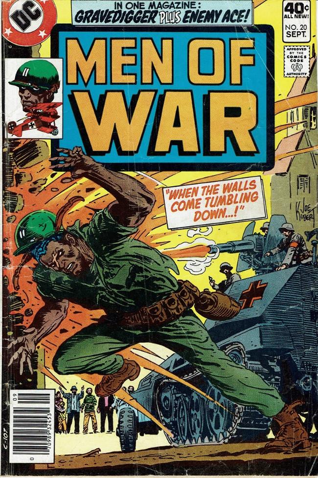 Couverture de Men of war Vol.1 (DC comics - 1977) -20- When the Walls Come Tumbling Down...