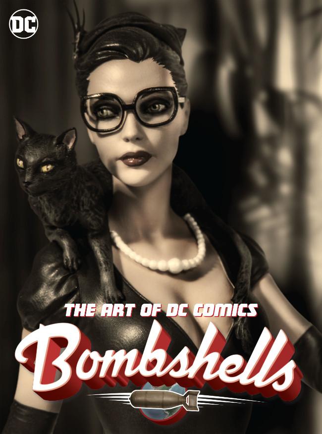 Couverture de The Art of DC comics Bombshells - The Art of DC Comics Bombshells