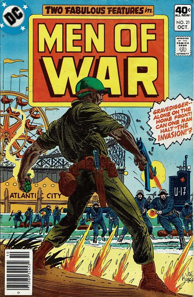 Couverture de Men of war Vol.1 (DC comics - 1977) -21- The Invasion!