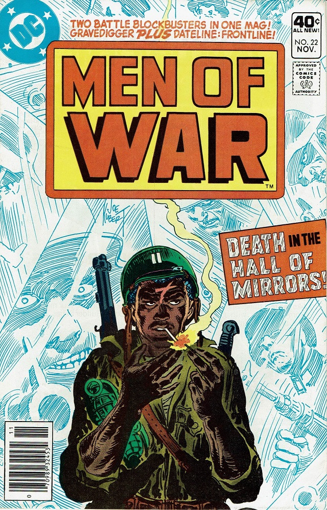 Couverture de Men of war Vol.1 (DC comics - 1977) -22- Death in the Hall of Mirrors!