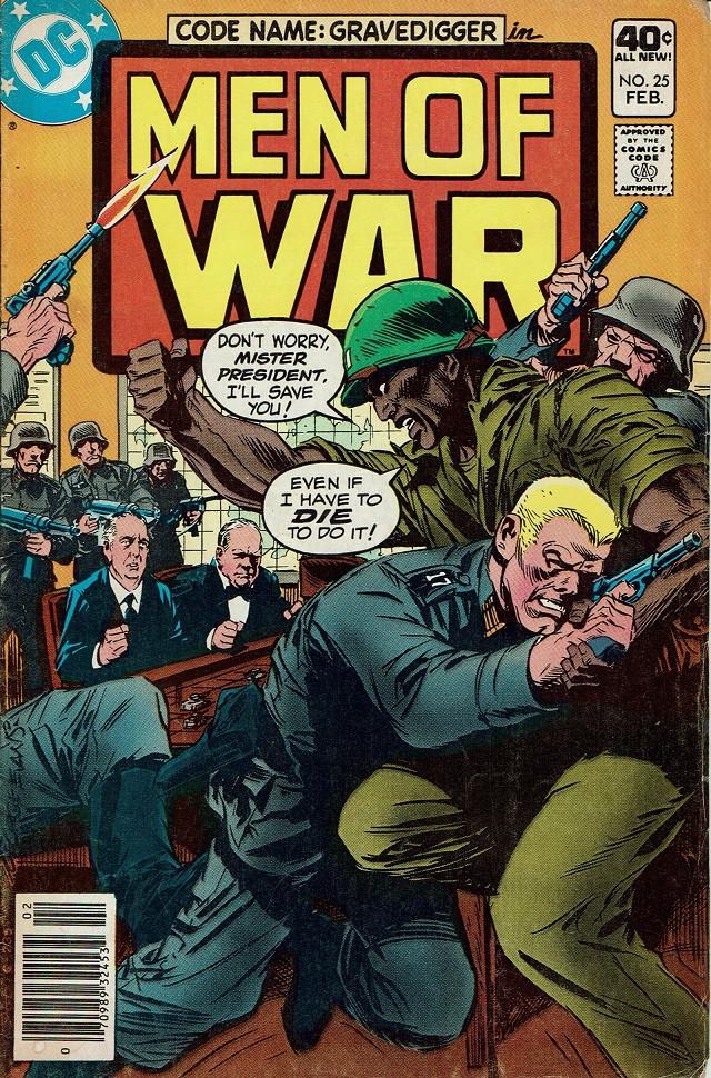 Couverture de Men of war Vol.1 (DC comics - 1977) -25- (sans titre)