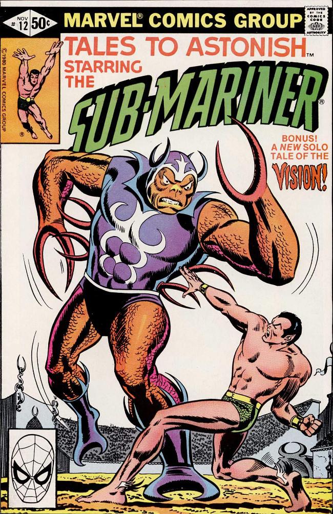 Couverture de Tales to astonish Vol. 2 (Marvel - 1979) -12- (sans titre)