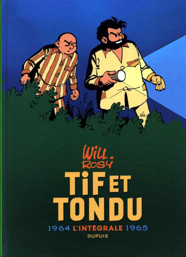 Couverture de Tif et Tondu -INT4- L'intégrale 1964 - 1965