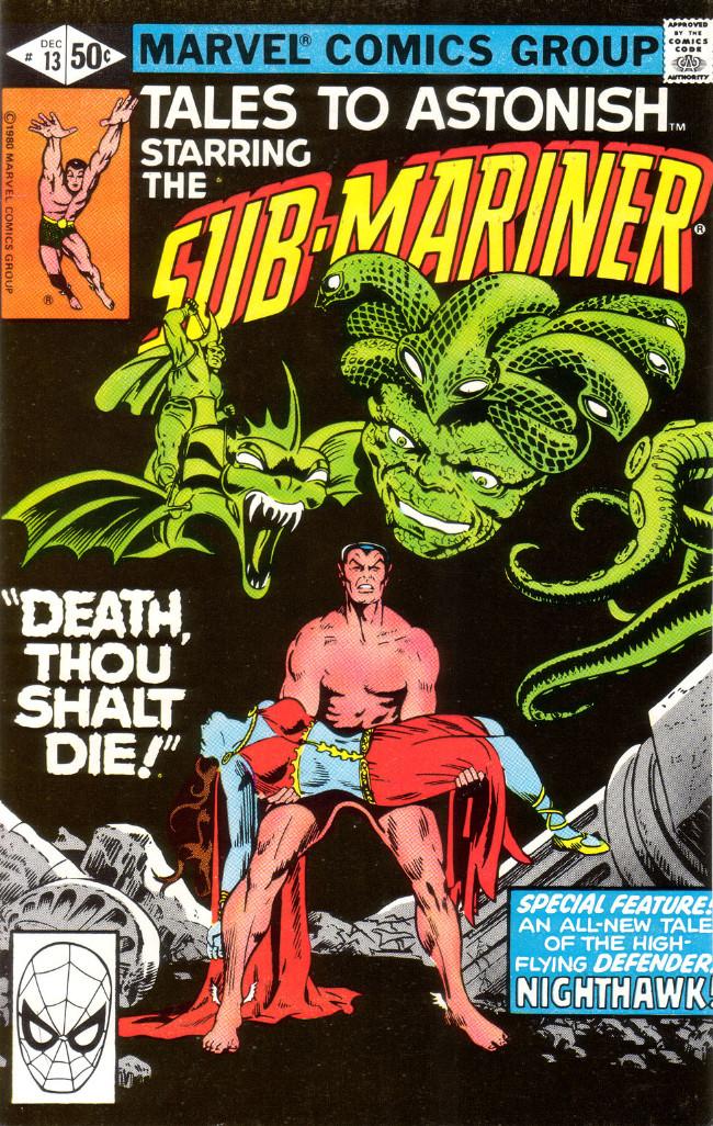 Couverture de Tales to astonish Vol. 2 (Marvel - 1979) -13- Death, Thou Shalt Die!