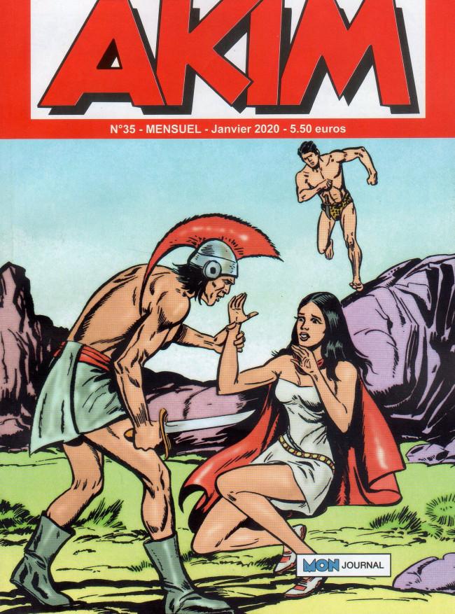 Couverture de Akim (3e série) -35- L'étoile d'or - Le piège de feu