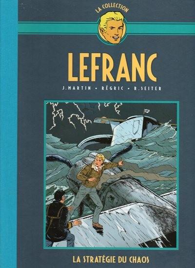 Couverture de Lefranc - La Collection (Hachette) -29- La Stratégie du chaos