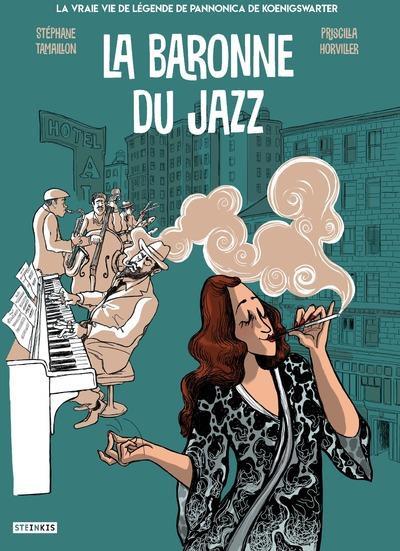 Couverture de La baronne du jazz