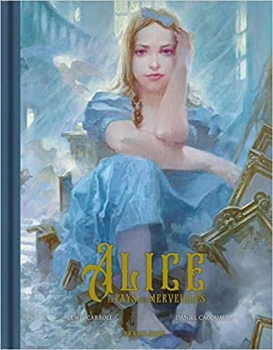 Couverture de Alice au pays des merveilles (Cacouault) - Alice au pays des merveilles
