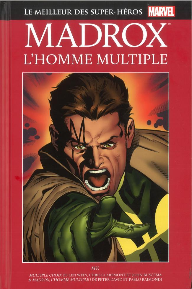 Couverture de Marvel Comics : Le meilleur des Super-Héros - La collection (Hachette) -103- Madrox L'Homme Multiple
