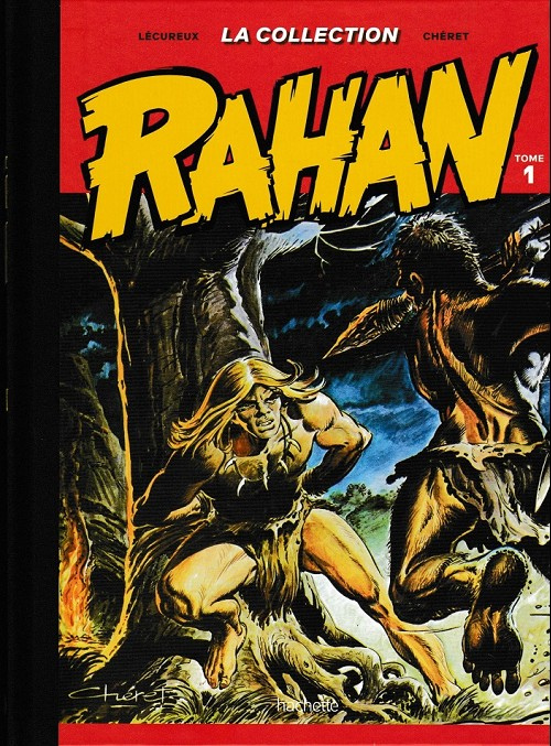 Couverture de Rahan - La Collection (Hachette) -1- Tome 1
