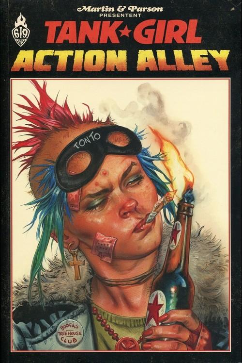 Couverture de Tank Girl -12- Action Alley