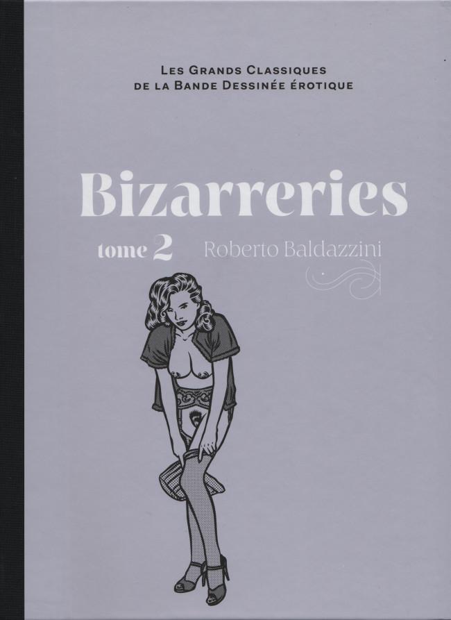Couverture de Les grands Classiques de la Bande Dessinée érotique - La Collection -9699- Bizarreries - Tome 2