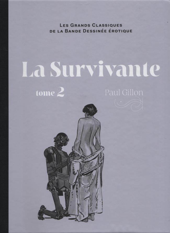 Couverture de Les grands Classiques de la Bande Dessinée érotique - La Collection -97105- La Survivante - tome 2