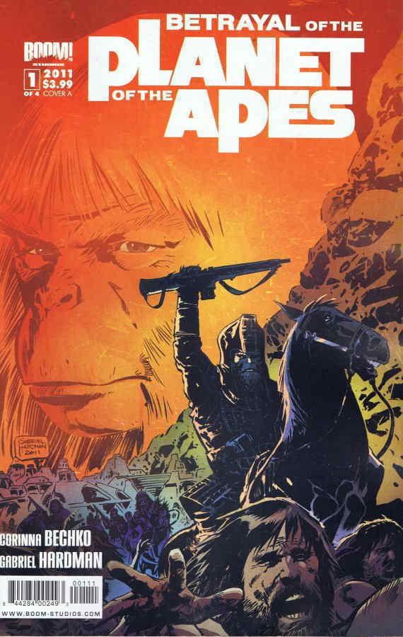 Couverture de Betrayal Of The Planet Of The Apes (2011) -1A- (sans titre)