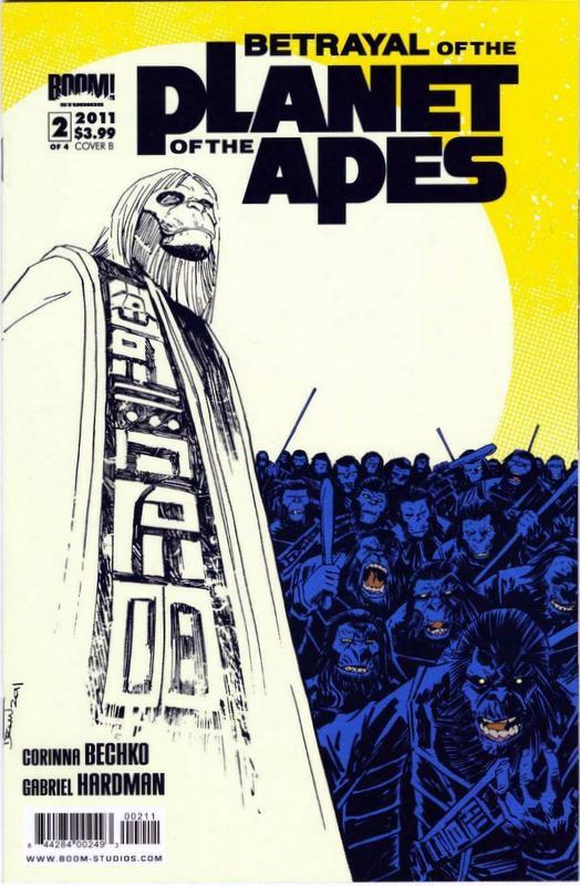 Couverture de Betrayal Of The Planet Of The Apes (2011) -2B- (sans titre)