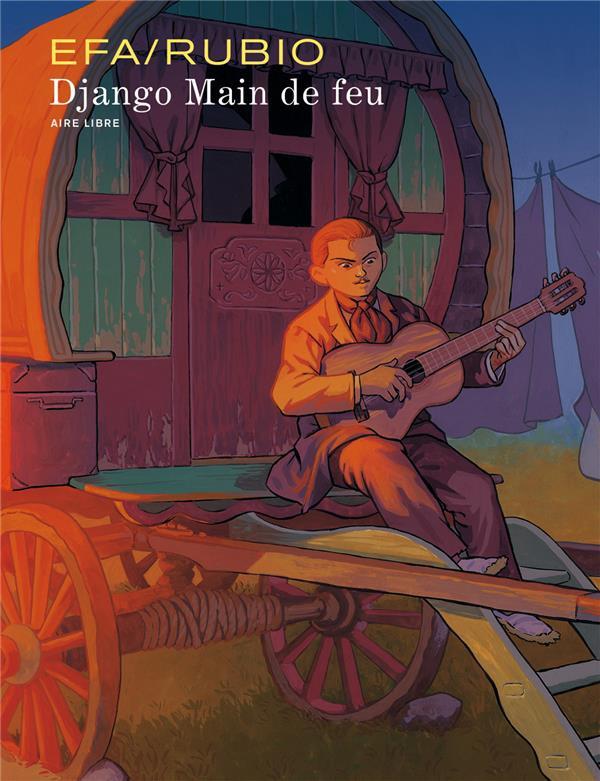Couverture de Django Main de feu