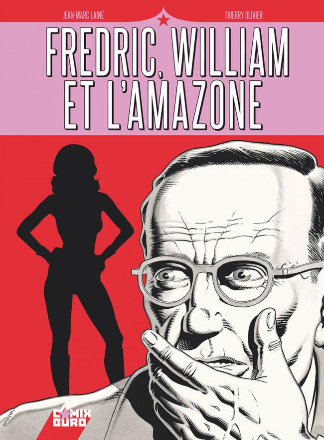 Couverture de Fredric, William et l'Amazone