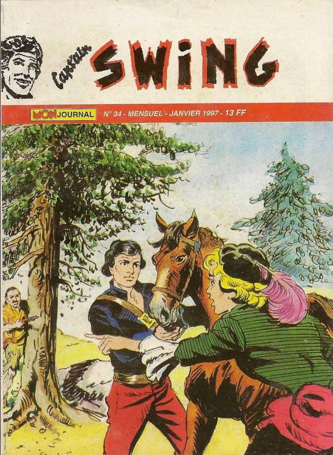 Couverture de Capt'ain Swing! (2e série - Mon Journal) -34- Le traître