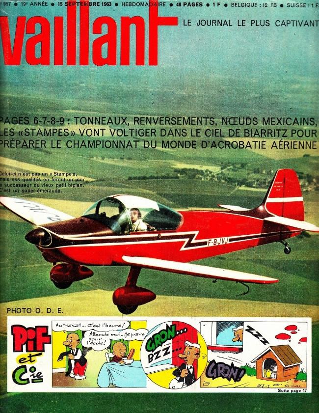 Couverture de Vaillant (le journal le plus captivant) -957- Vaillant