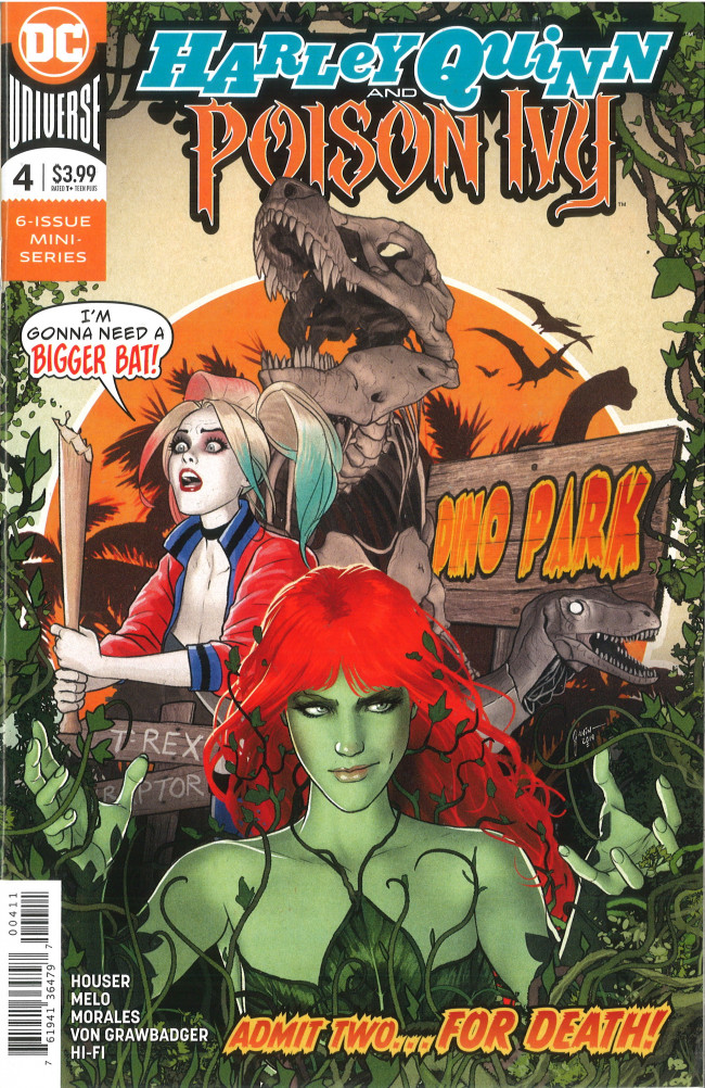 Couverture de Harley Quinn and Poison Ivy (2019) -4- Breaking Down