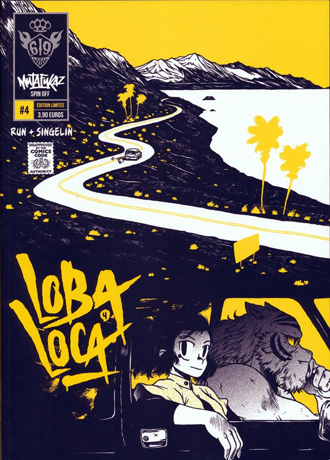 Couverture de Mutafukaz' Loba Loca -4- Vol. 4