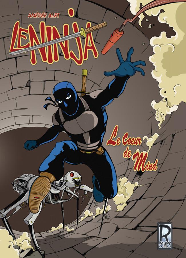 Couverture de Le ninja (R-Comics) - Le cœur de Mind