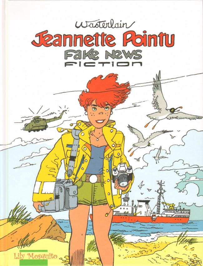 Couverture de Jeannette Pointu -21- Fake news fiction