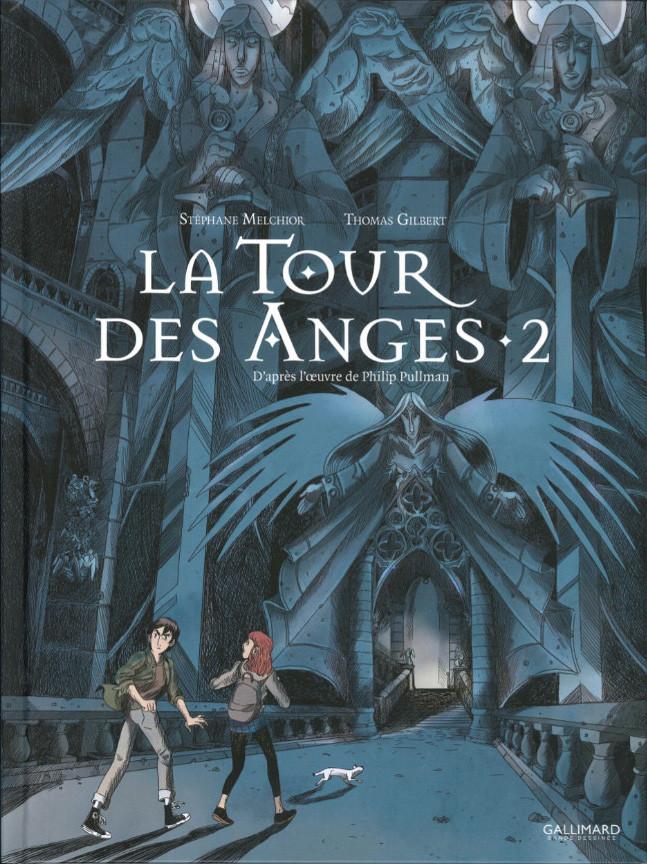 Couverture de À la croisée des mondes -5- La Tour des Anges - 2