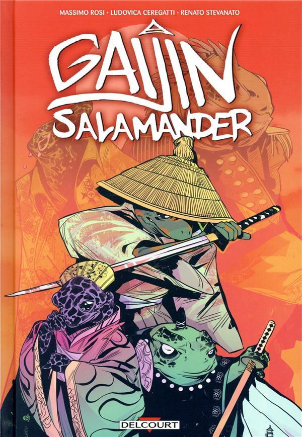 Couverture de Gaijin Salamander