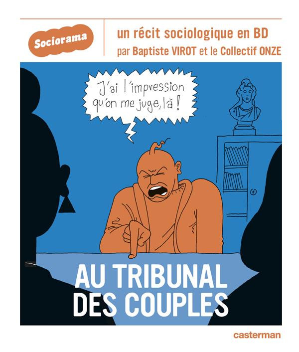 Couverture de Sociorama - Au tribunal des couples