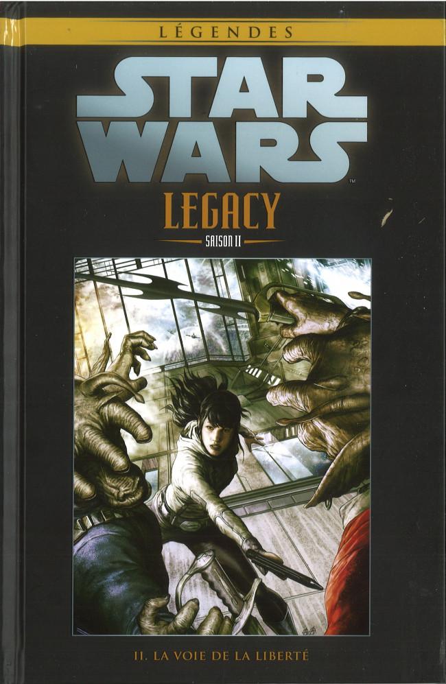 Couverture de Star Wars - Légendes - La Collection (Hachette) -10896- Star Wars Legacy Saison II - II. La Voie de la Liberté