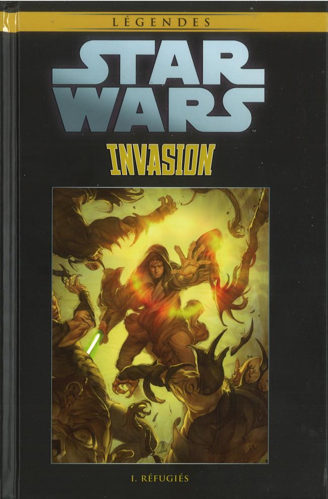 Couverture de Star Wars - Légendes - La Collection (Hachette) -10982- Invasion - I. Réfugiés