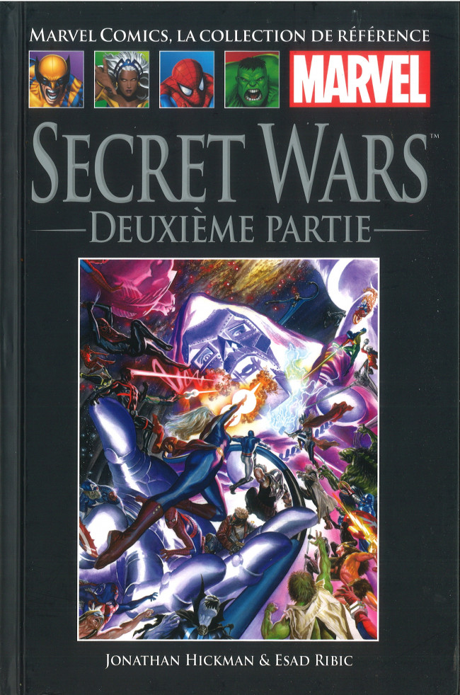 Couverture de Marvel Comics - La collection (Hachette) -150113- Secret Wars - Deuxième Partie