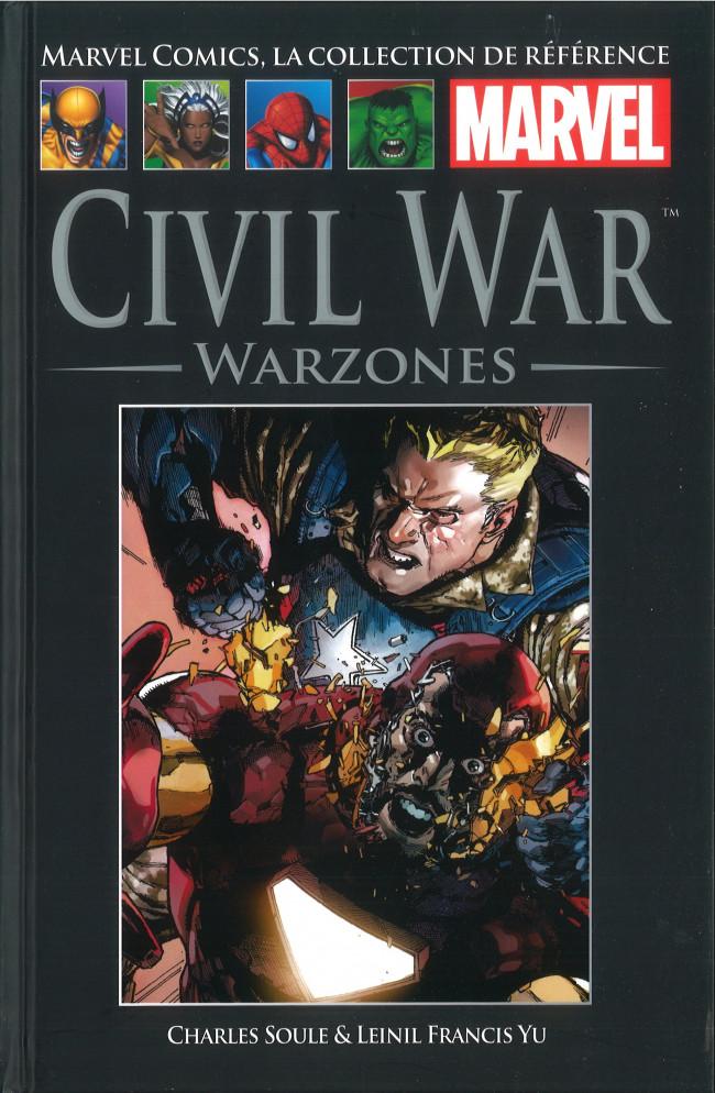 Couverture de Marvel Comics - La collection (Hachette) -151114- Civil War - Warzones