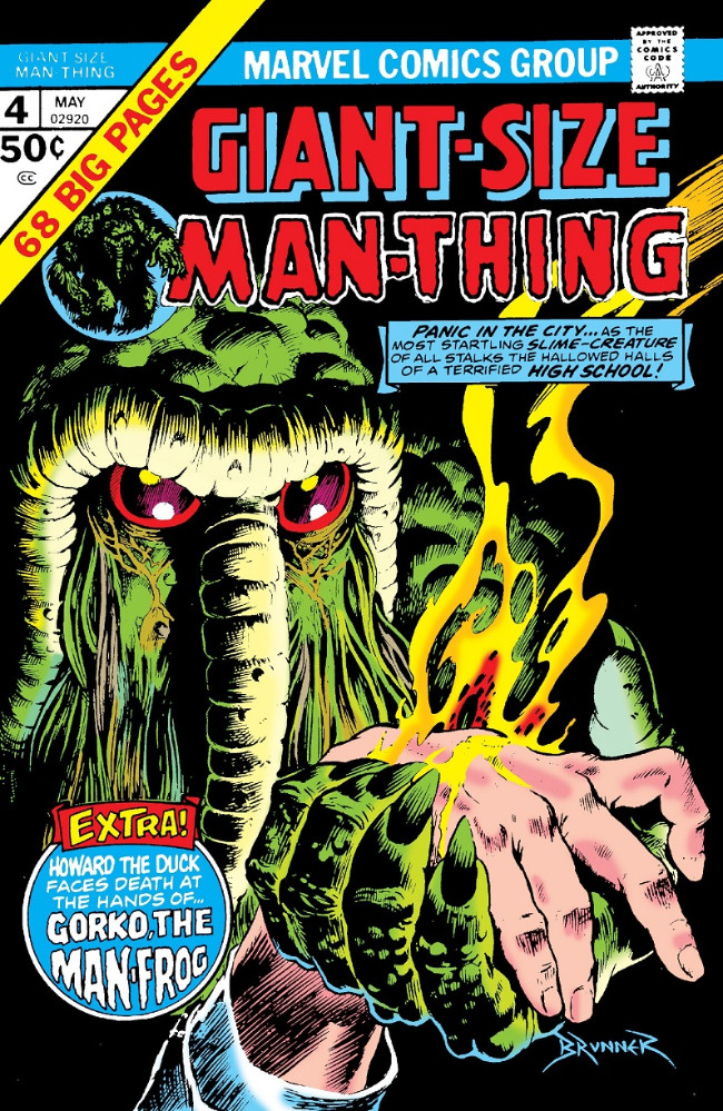 Couverture de Man-Thing (Giant Size) (Marvel - 1974) -4- Gorko the Man-frog