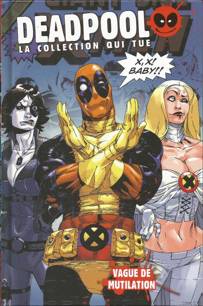 Couverture de Deadpool - La collection qui tue (Hachette) -2133- Vague de mutilation