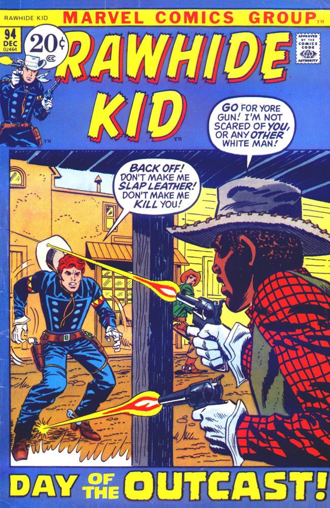 Couverture de Rawhide Kid Vol.1 (Atlas/Marvel - 1955) -94- Day of the Outcast!