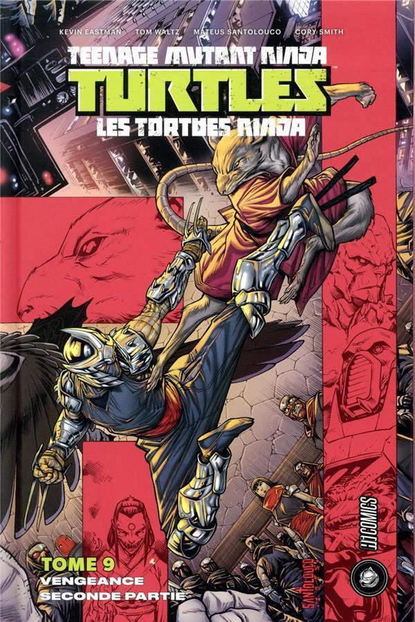 Couverture de Teenage Mutant Ninja Turtles - Les Tortues Ninja (HiComics) -9- Vengeance seconde partie