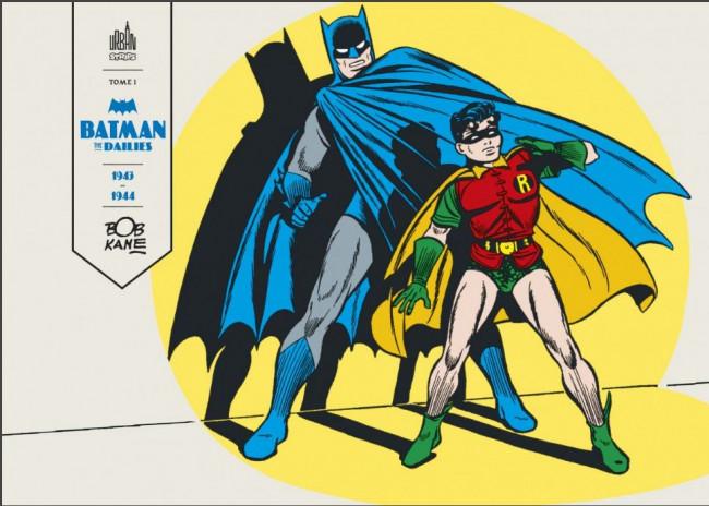 Couverture de Batman the Dailies -1- 1943 - 1944