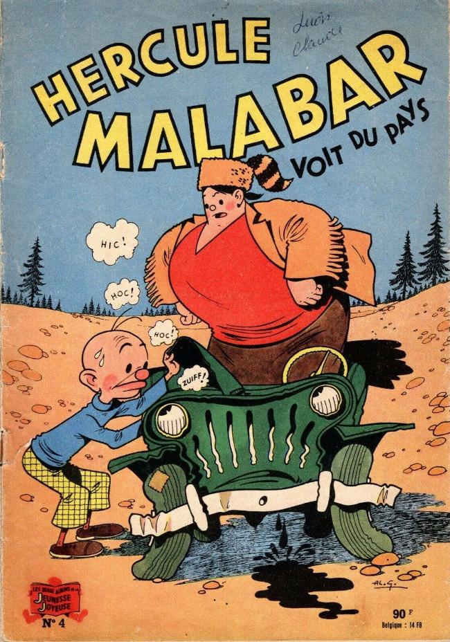 Couverture de Hercule Malabar -4- Hercule Malabar voit du pays
