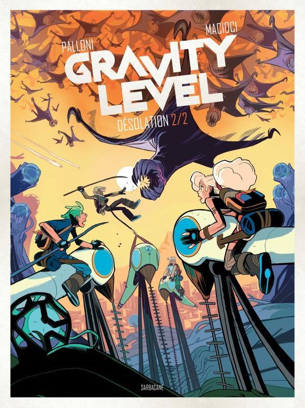 Couverture de Gravity Level -2- Désolation 2/2