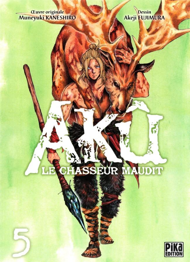 Couverture de Akû - le Chasseur Maudit -5- Tome 5