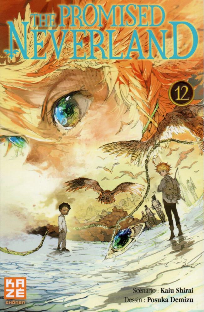 Couverture de The promised Neverland -12- Le son du commencement
