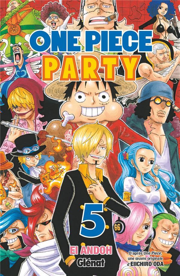 Couverture de One Piece Party -5- Tome 5