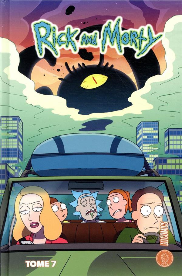 Couverture de Rick and Morty -7- Volume seven