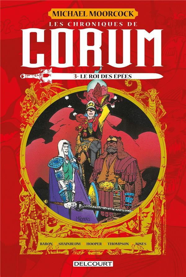 Couverture de Les chroniques de Corum -3- Le roi des épées