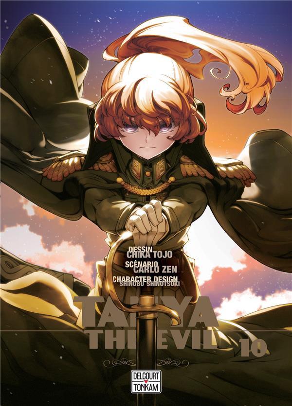 Couverture de Tanya The Evil -10- Tome 10