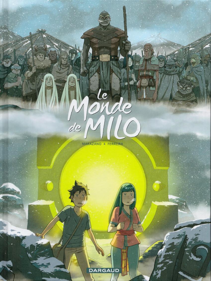 Couverture de Le monde de Milo -7- La Terre sans Retour 1/2