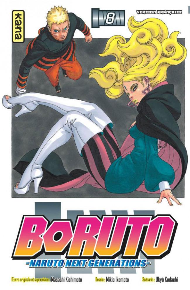 Couverture de Boruto - Naruto Next Generations -8- Tome 8